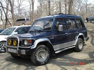 1990 Mitsubishi Pajero Pictures  2500cc   Diesel