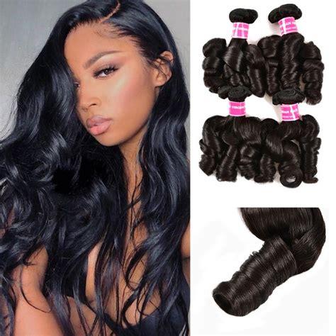 | curly & wavy hair. UNice Funmi Hair Curly Weave 4 Bundles Spiral Curl Hair ...