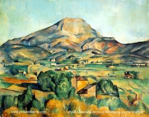 Cezanne Peintre by Paul C 233 Zanne La Montagne Sainte Victoire Les Regards