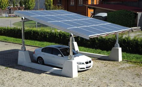 Carport Solar Structures  Vispiron Ag  Overview Energy