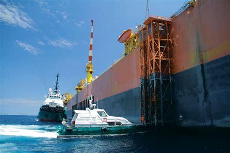 Boat And Landing by Bourbon Marine Services Transport De Personnels