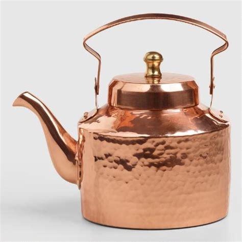 mini hammered copper teakettle world market