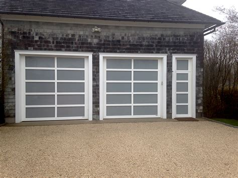 view garage door custom aluminum view glass aj garage door