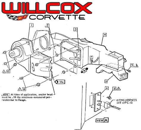 1980 Chevy Heater Resistor Wiring Diagram by 1975 Archives Page 14 Of 34 Willcox Corvette