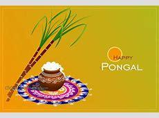Sankranti Greeting Pongal Preparations
