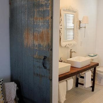 Reclaimed Wood Washstand Eclectic Bathroom Reclaimed Wood Washstand Eclectic Bathroom