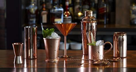 Expanded Range Of Copper Barware Is Much More Than A