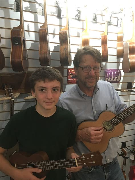 Collection of free ukulele chord diagrams for music teachers to use when creating their own resources: Nichol plays ukulele debut with music teacher Cowan   Port Townsend Leader