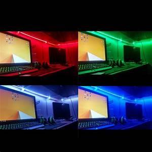 Led Strips Rgb : multi coloured 12v rgb led strip lights kit 5050 smd led le ~ Frokenaadalensverden.com Haus und Dekorationen