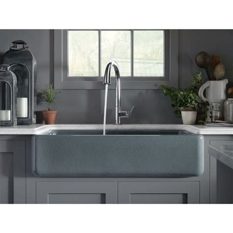 big kitchen sinks kohler k 6427 0 whitehaven white kitchen sinks sinks 4622