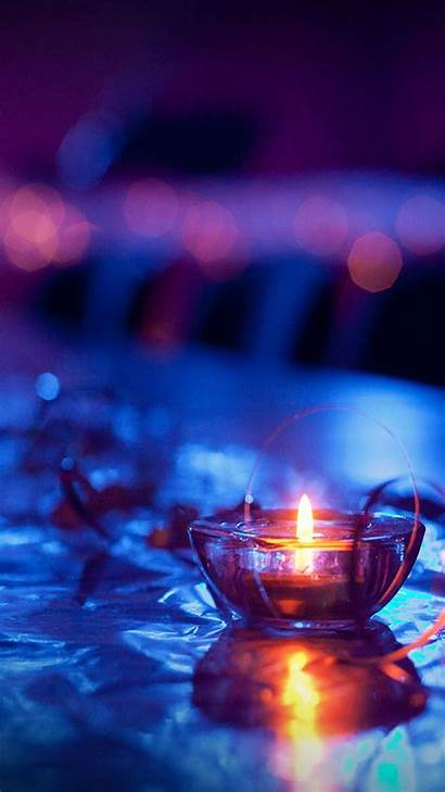 Candle Iphone Wallpapers Lit Android Mobile Macro
