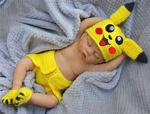 Newborn Halloween baby costume Pikachu baby Halloween ...