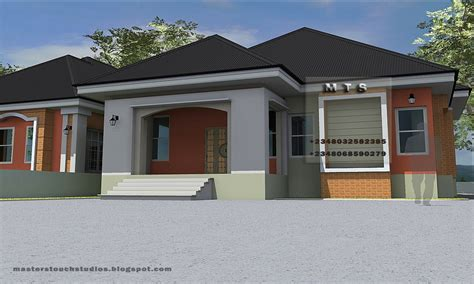 3 Bedroom Bungalow Designs Modern 3 Bedroom House Plans, 3