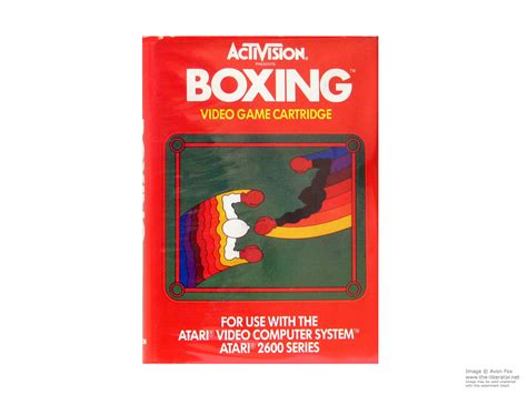 Atari 2600 Game Cartridges Box Art And Instructions