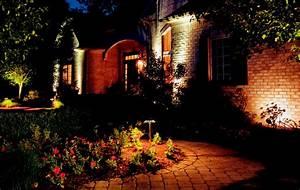 Volt landscaping lights landscape lighting on
