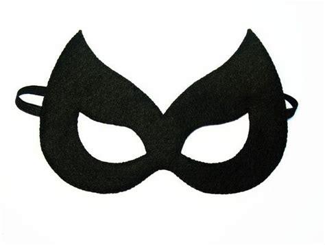 catwoman felt mask  years adult size black cat