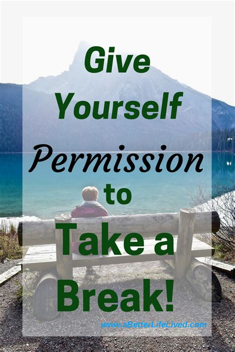 Image result for give yourself permission to