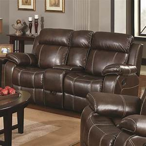 Myleene collection 603021 brown leather reclining sofa for Sofa bed and recliner set
