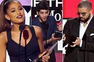 American Music Awards full winners list: Ariana Grande ...