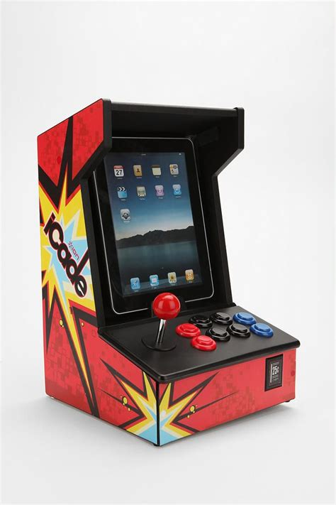 Icade Game Cabinet Turn Your Ipad Into An Mini Arcade