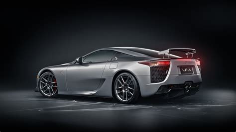 Lexus Lfa Silver Back By Nasg85 On Deviantart
