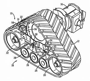 patent us6401847 vehicle track undercarriage adjustment With undercarriage