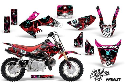 Check out a selection of ready made graphics kits on motocal for honda bikes. Dirt Bike Graphics Kit Decal Wrap For Honda CRF50 CRF 50 ...