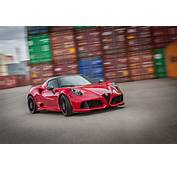 Wallpaper Alfa Romeo Zender 4c Red Sports