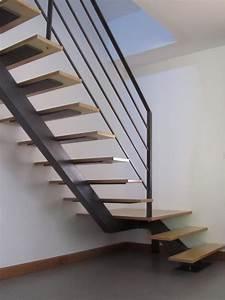 Escalier Fer Et Bois : escalier bois et fer ~ Dailycaller-alerts.com Idées de Décoration