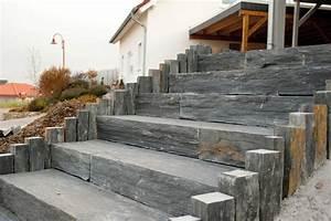 Treppenstufen Außen Granit : blockstufen schiefer treppenstufen eingangstreppe stufe kaufen bei ~ Frokenaadalensverden.com Haus und Dekorationen