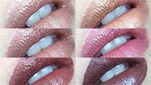 6 NEW Shades NYX Cosmetics Cosmic Metals Lip Creme ...  Nyx