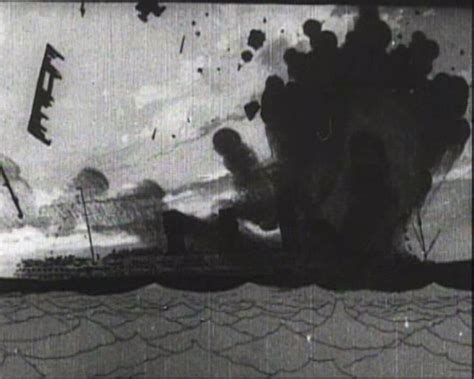 rms lusitania sinking animation the sinking of the lusitania