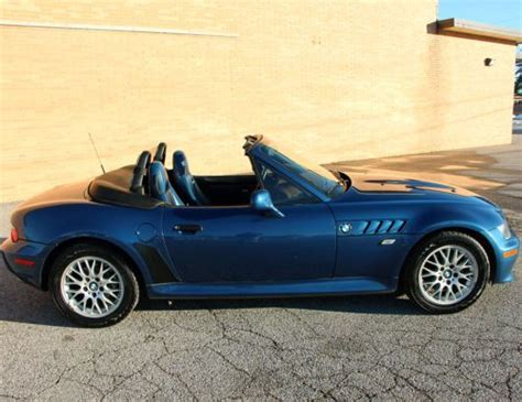Purchase Used Bmw Z3 Metalic Blue Roadster, Low Miles, New