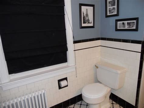 1940 Bathroom. I Love That Blue On The Wall