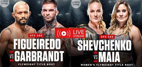 UFC 255 Live Stream Free: How to watch Figueiredo vs Perez ...