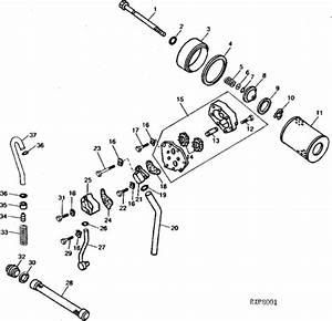 Tractor John Deere Hydraulic System Diagram