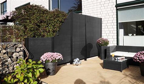 Rattan Sichtschutz Für Terrasse by Rattan Sichtschutz Madrid Garten Rattan Sichtschutz