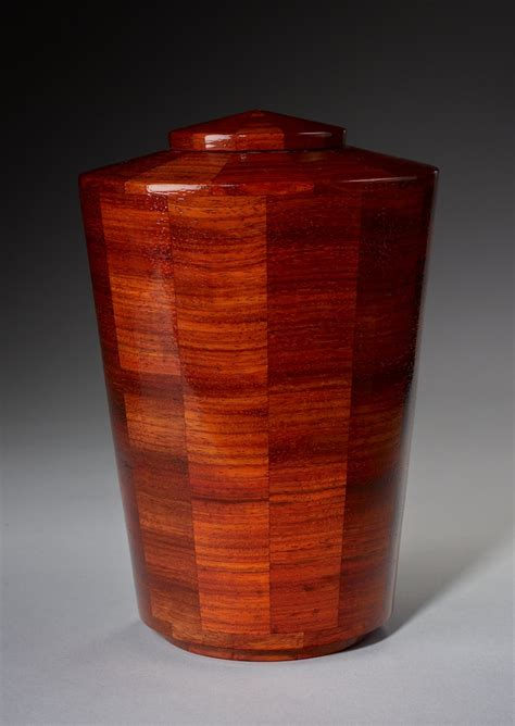 joy padauk wood cremation urn memorial urns