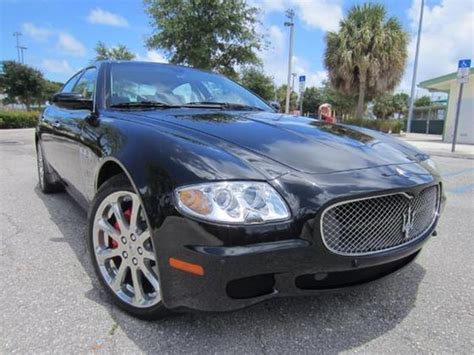 2008 Maserati Quattroporte For Sale by 2008 Maserati Quattroporte Executive Gt For Sale In Delray
