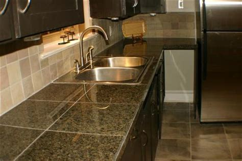 kitchen tile countertop ideas comparison of kitchen countertop material options