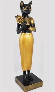 Cat Headed Egyptian Goddess Bastet Statue   Curse of the ...