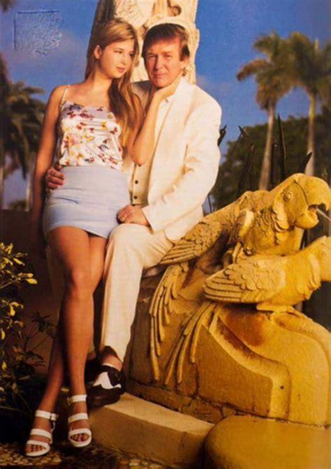Pics Ivanka Donald Trumps Throwback Photo Has Everyone Freaked See Why Hollywood Life