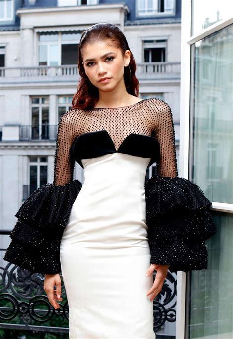 zendaya  paris fashion week miu miu haute couture