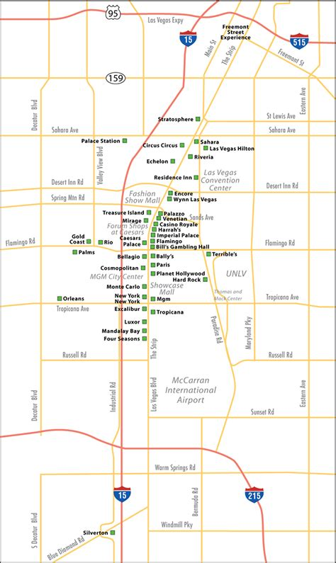 north las vegas subway map travelsfinderscom