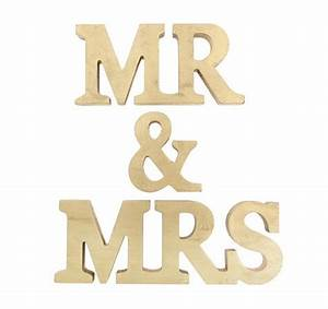 mr and mrs stand up wooden letters mr mrs letter gold With mr and mrs letters for wedding
