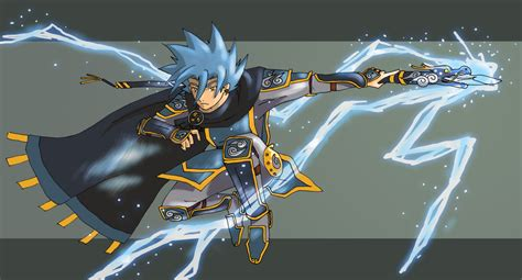 lightning mage by yuzchris on