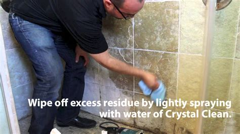 stone pro   remove hard water spots  showers youtube