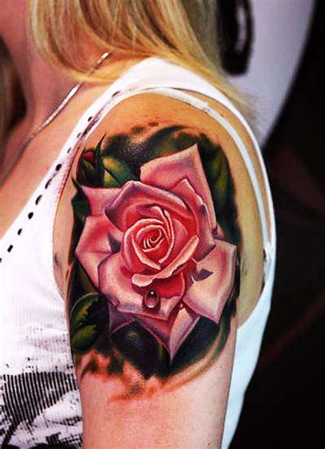 121 Traditional & Modern Rose Tattoos And Designs