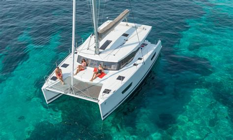 Catamaran Pictures by Catamarans Sailboat Lucia 40 Fountaine Pajot