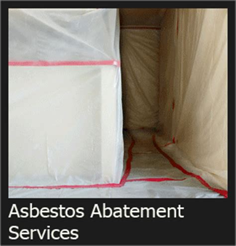 commercial asbestos abatement mold  lead paint removal
